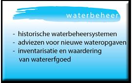Dia waterbeheer